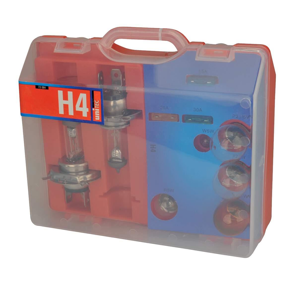 Unitec H7 Ersatzlampen-Koffer 55 W