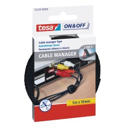 1160423 - Cable Manager univ.schwarz 10mm 5m