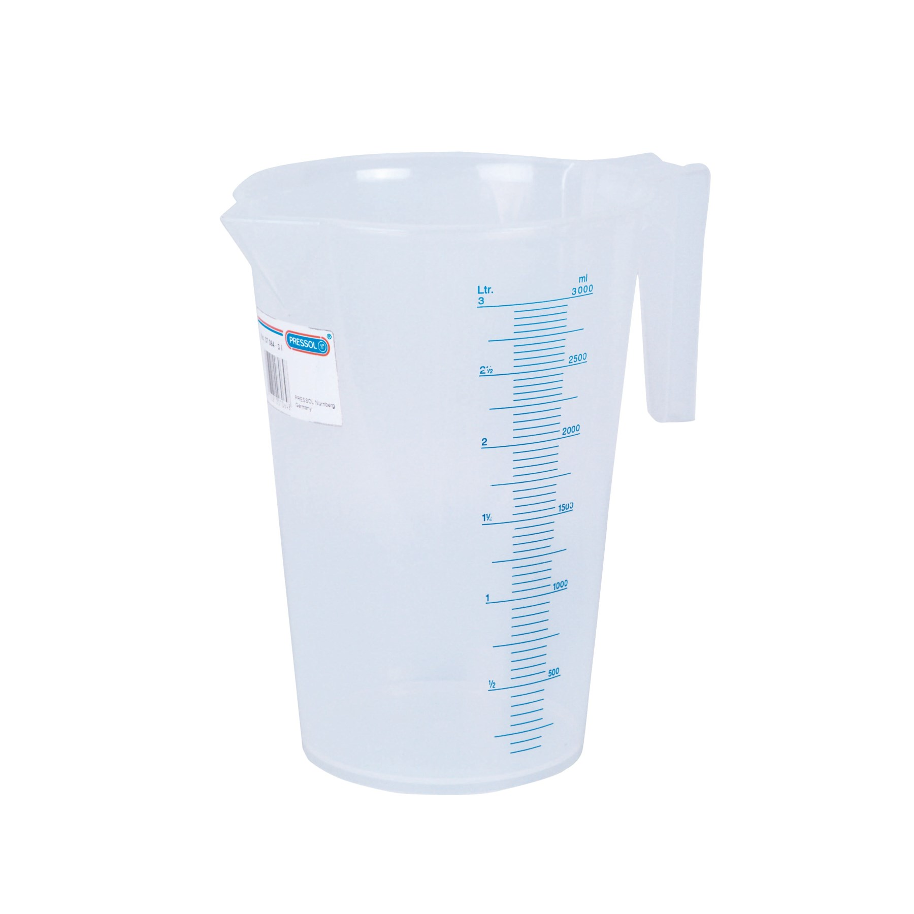 1052438 - Messbecher Kunststoff transparent 3l