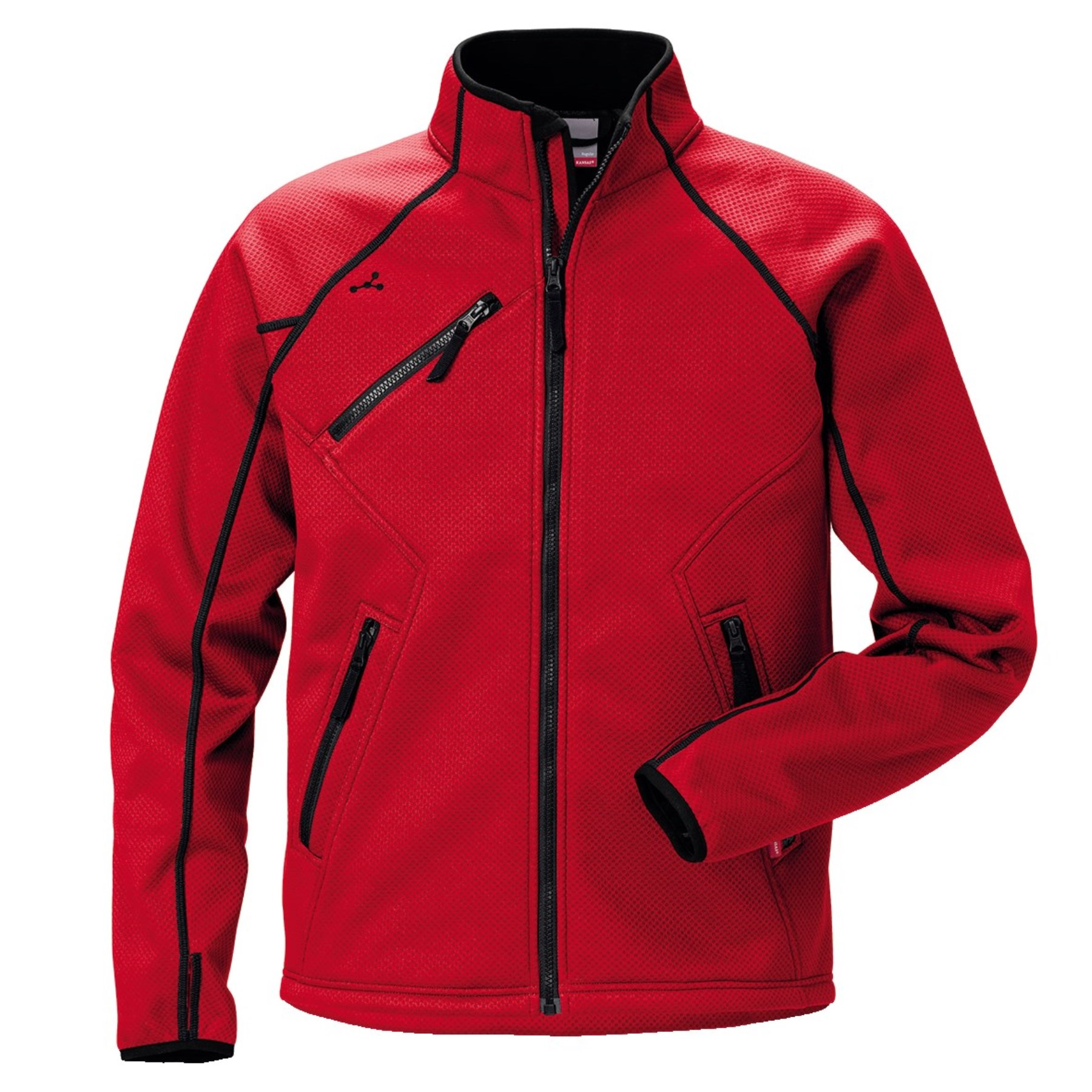 1237974 - Softshell Stretch Jacke Gr.S rot