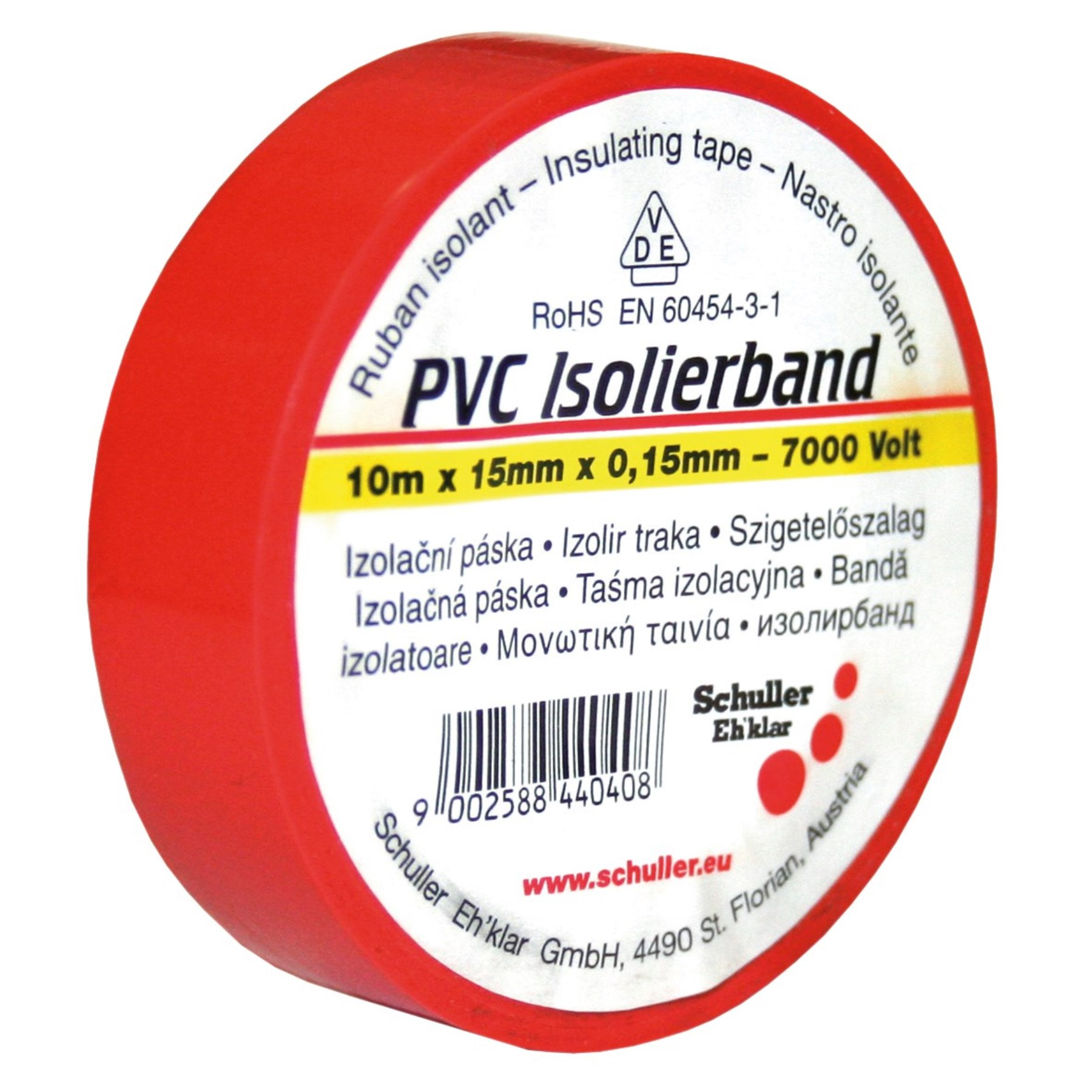 1069054 - VDE-Isolierband rot