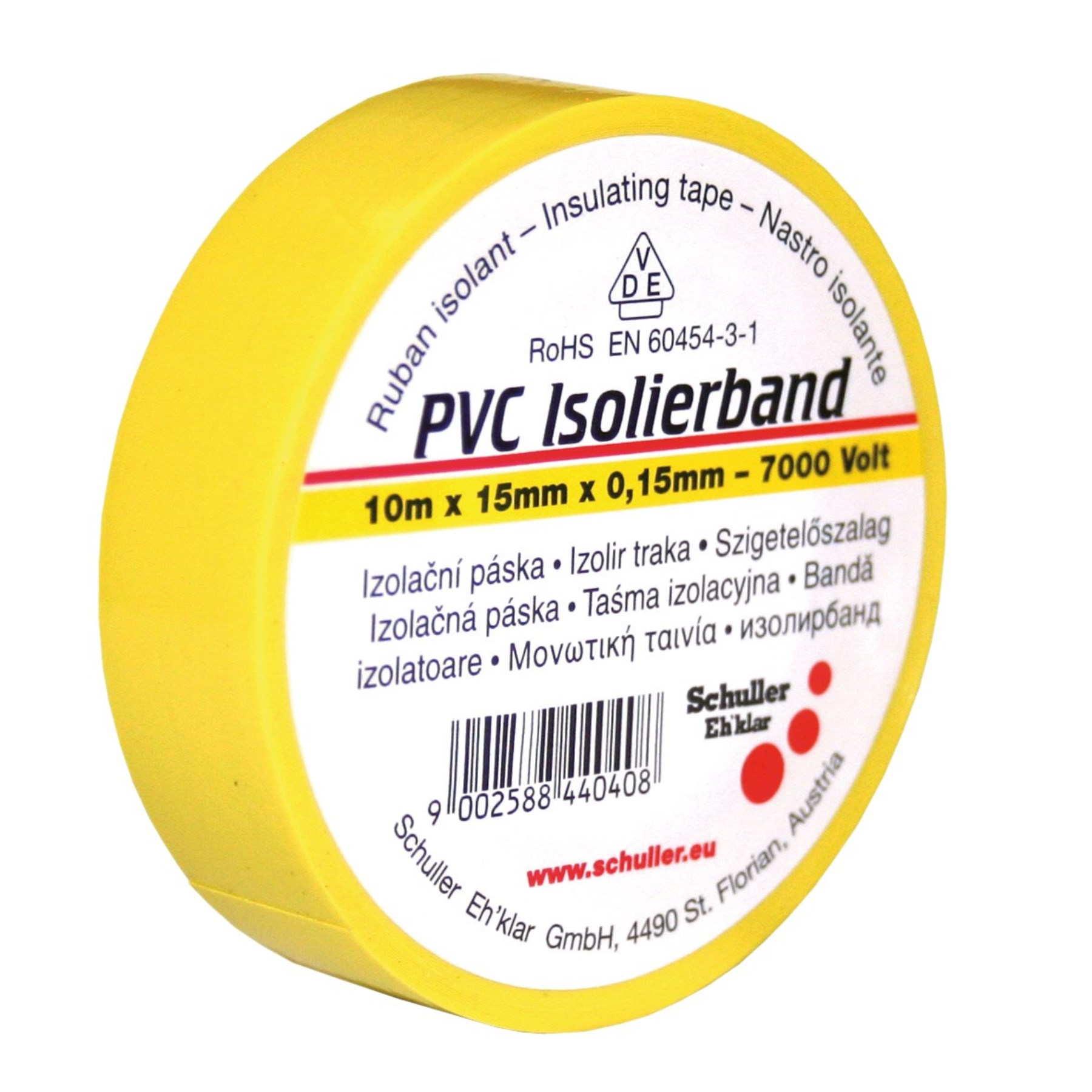 1069055 - VDE-Isolierband gelb