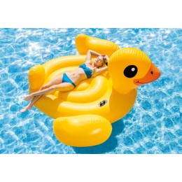 1233553 - Schwimminsel Mega Yellow Duck Island 221x221x109cm