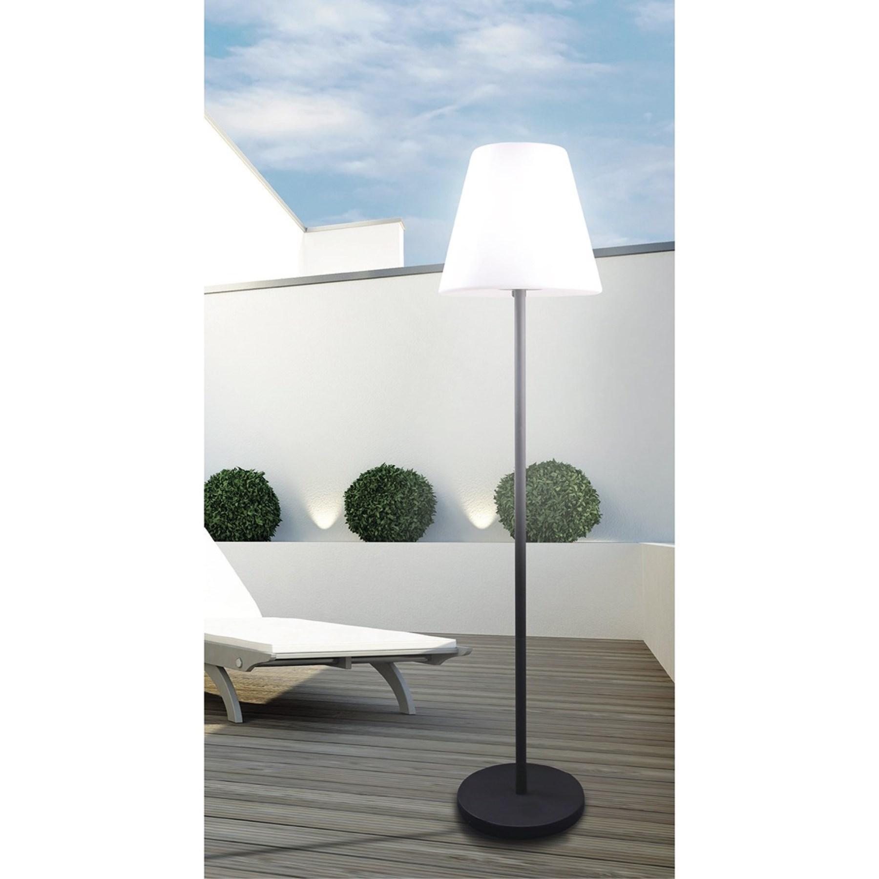 led stehlampe mit lautsprecher inkl fernbedienung 1238094 let 39 s doit starke marken. Black Bedroom Furniture Sets. Home Design Ideas