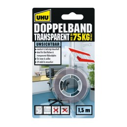 1221320 - Doppelband transp. 1,5mx19mm