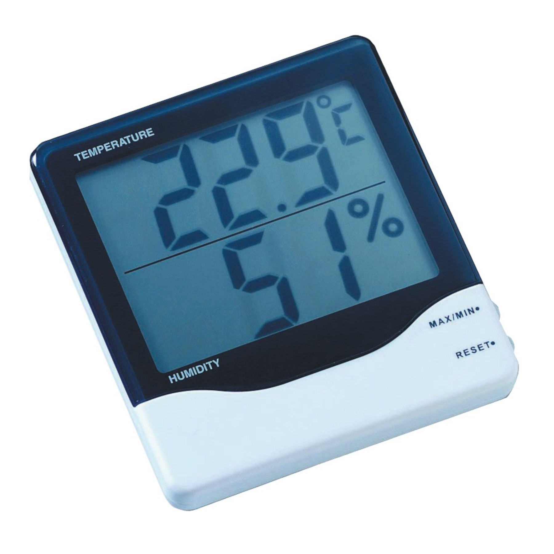 1070912 - Kombithermometer digital Thermo/Hygro 110x95x20mm SB