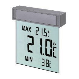 1133737 - Fensterthermometer Vision dig. 105x97x23mm SB