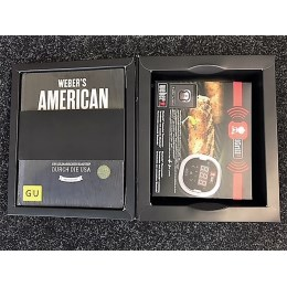 1249801 - Thermometer iGrill 3 und American BBQ Buch - Bundle