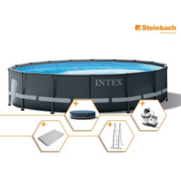 1250307 - Pool Set Frame Ultra Rondo XTR DM 488x122cm