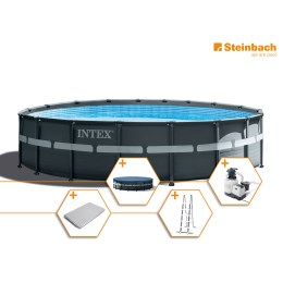 1250308 - Pool Set Frame Ultra Rondo XTR DM 549x132cm