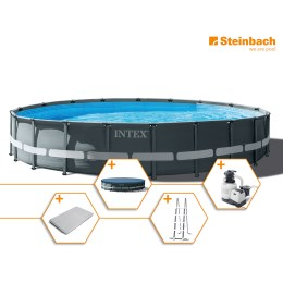 1250309 - Pool Set Frame Ultra Rondo XTR DM 610x122cm
