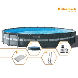 1250310 - Pool Set Frame Ultra Rondo XTR DM 732x132cm