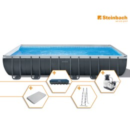 1250312 - Pool Set Frame Ultra Quadra XTR 732x366x132cm