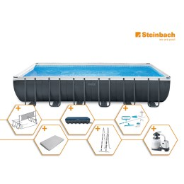 1250313 - Pool Set Frame Ultra Quadra XTR 732x366x132cm