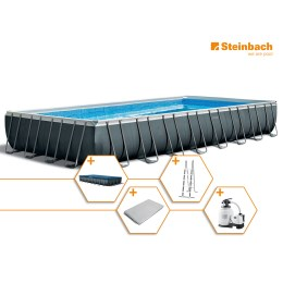 1250314 - Pool Set Frame Ultra Quadra XTR 975x488x132cm