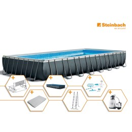 1250315 - Pool Set Frame Ultra Quadra XTR 975x488x132cm