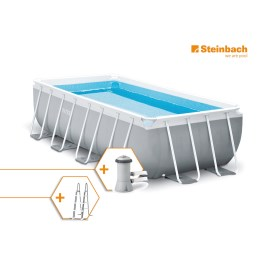 1250316 - Pool Set Frame Prism Quadra 400x200x100cm