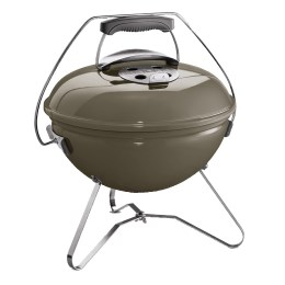 1220266 - Holzkohlegrill Smokey Joe Premium, 37cm, smoke grey