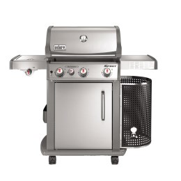 1233487 - Gasgrill Spirit S-330 Premium GBS, Stainless Steel