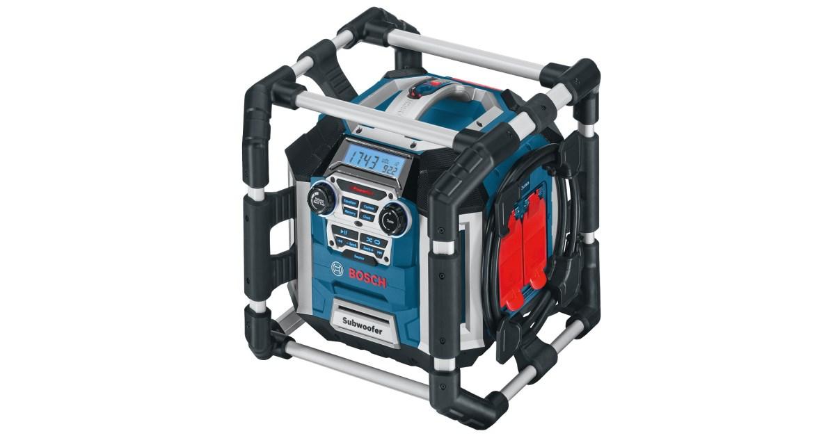 Bosch Akku Baustellenradio GML 50 Solo Professional SR