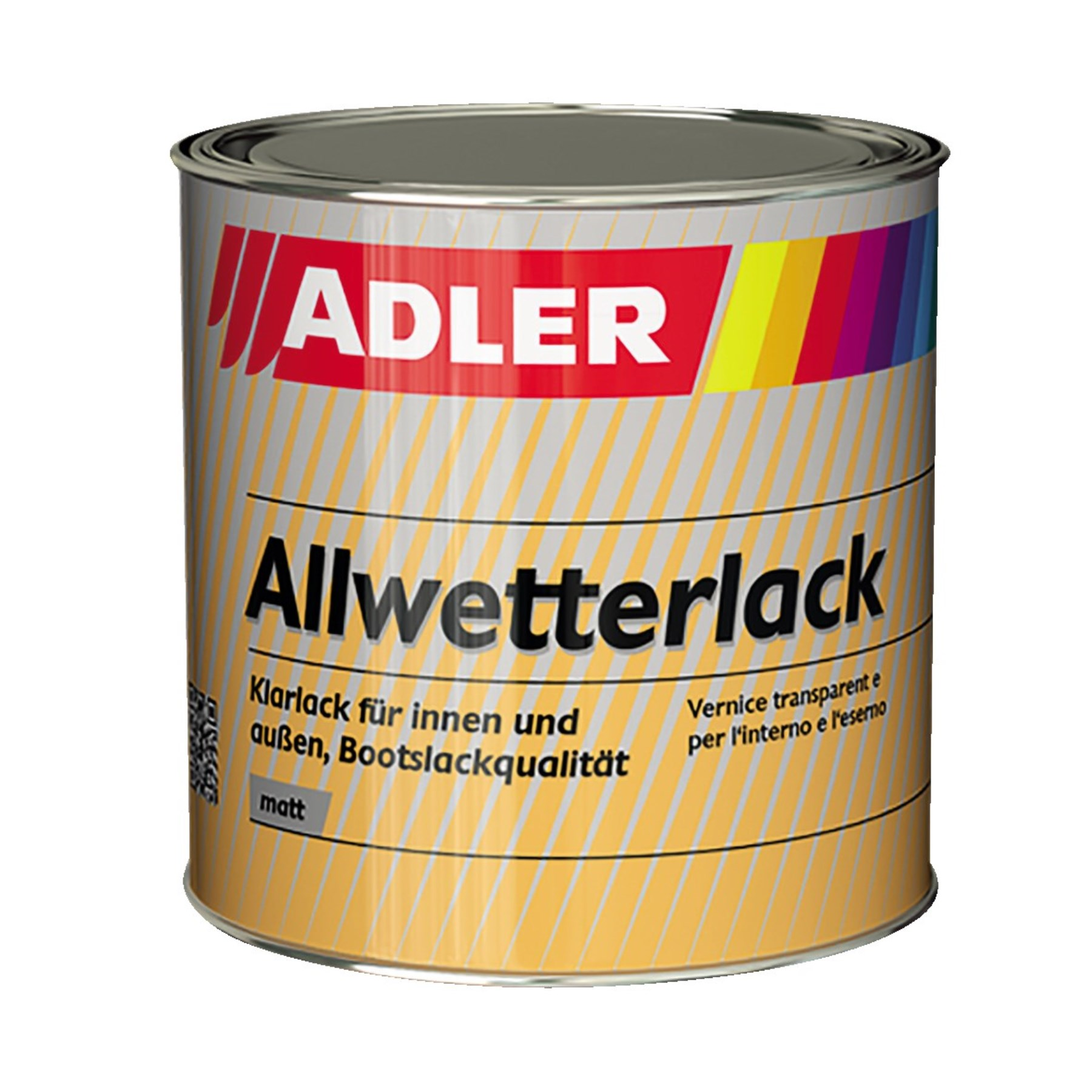 1122484 - Allwetterlack matt.375ml UV-Rapid