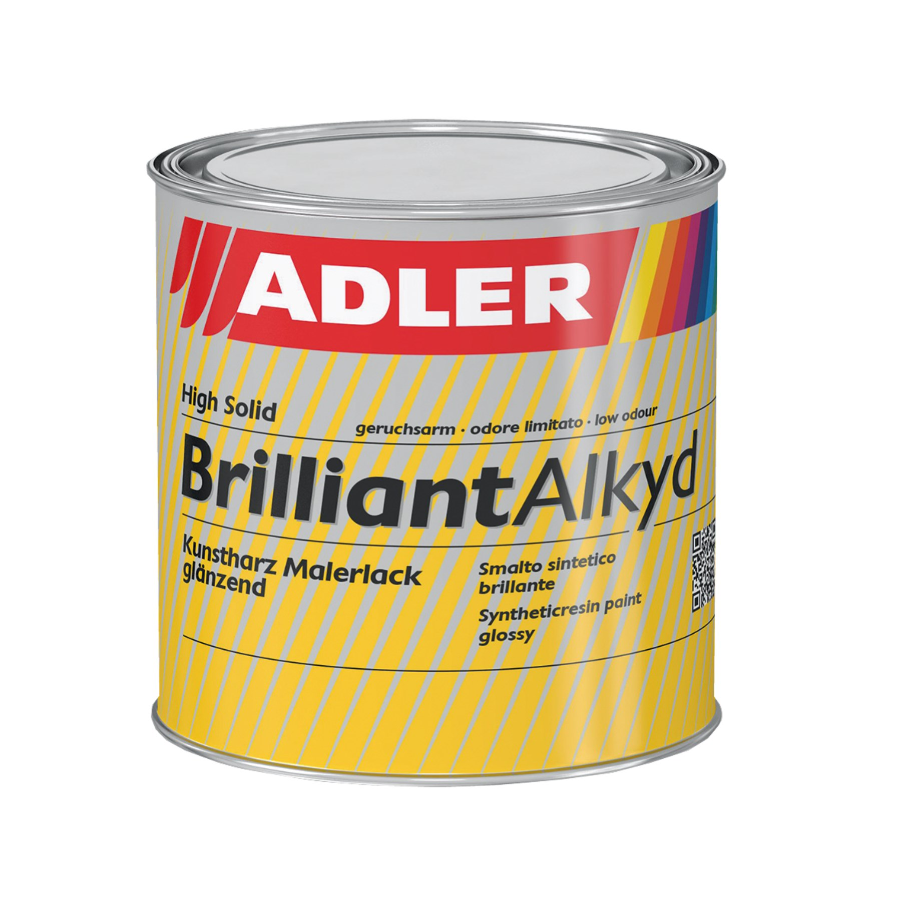 1132281 - Brilliant-Alkyd schwarz 125ml R9005