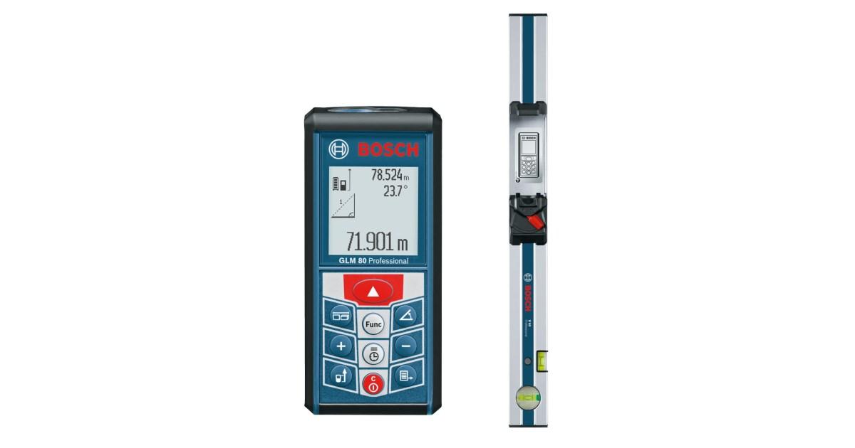 Infrarot Entfernungsmesser Bosch : Laser entfernungsmesser glm 80 1197487 lets doit starke