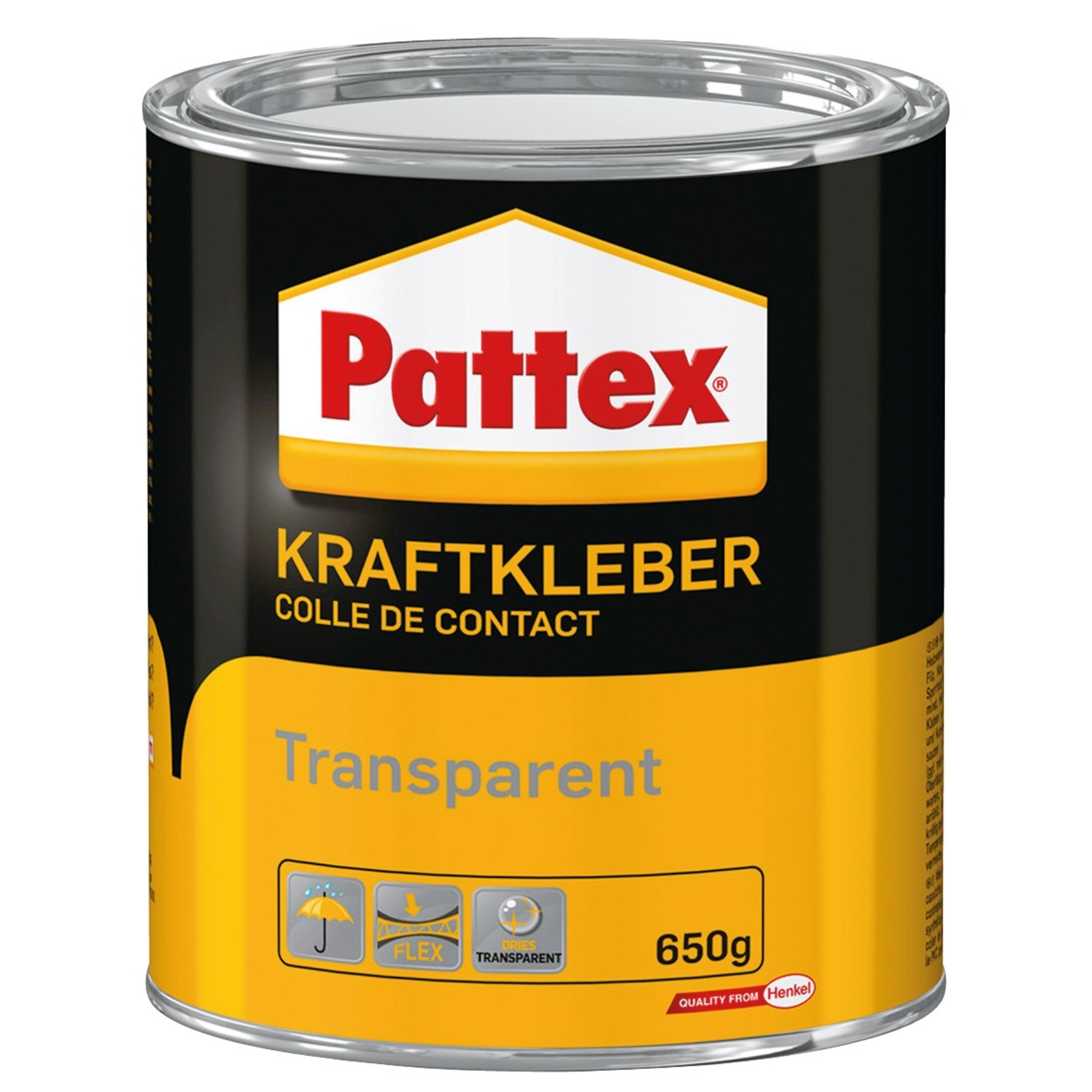1225894 - Kraftkleber transparent