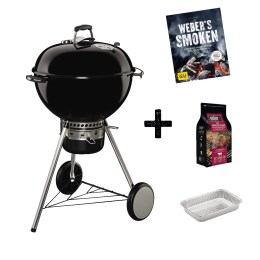 1239532 - Holzkohlegrill Master Touch GBS Sp. Ed. Pro, 57cm, Black