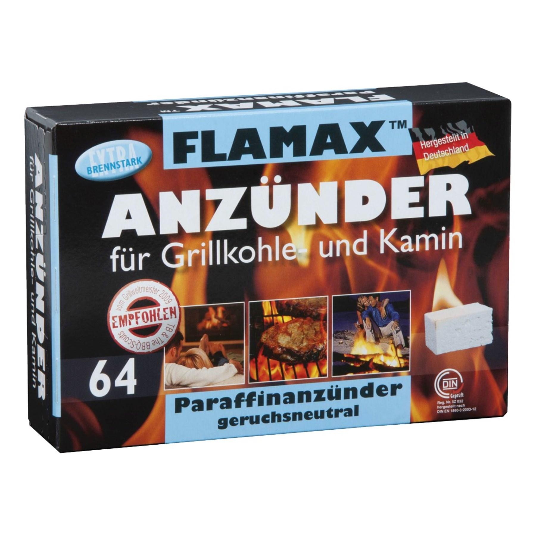grill- und kaminanzünder, 64 würfel (1219365) - let's doit - starke
